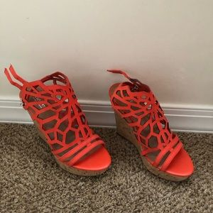 NWT Coral Wedges